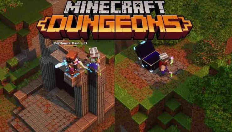 Как найти портал Nether Portal в Minecraft Dungeons
