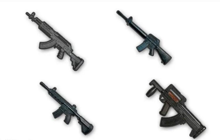 Штурмовые винтовки Pubg Mobile