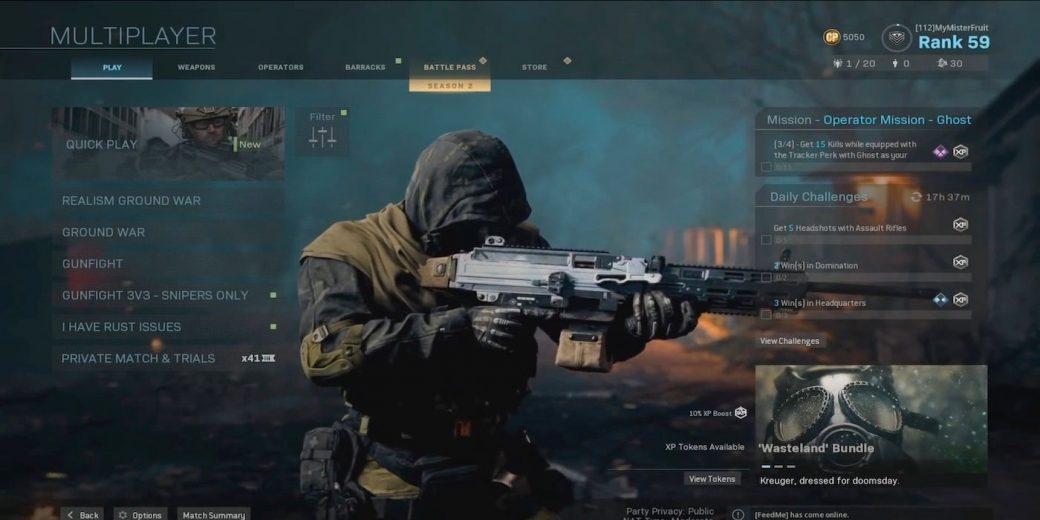 Call of Duty Warzone — Читеров заставят играть друг с другом