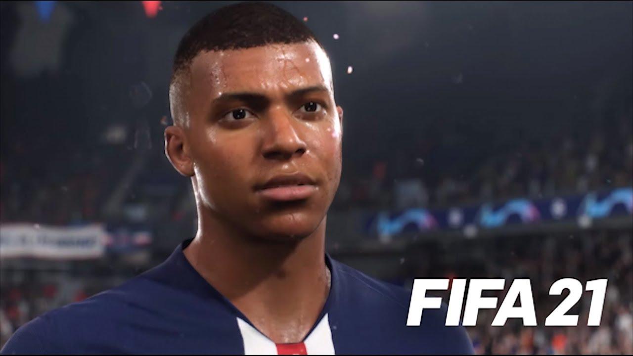 Мбаппе - главное лицо FIFA 21